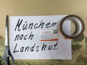 Umzug von München nach Landshut